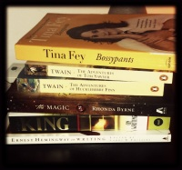 My latest book order