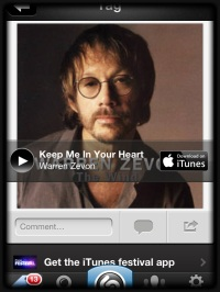 Keep Me in Your Heart, Warren Zevon