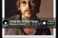 Keep Me in Your Heart, Warren Zevon