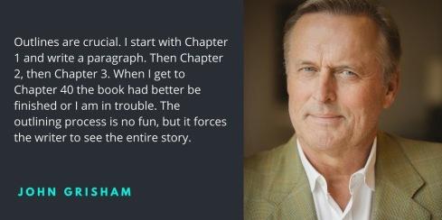 john grisham writing quote