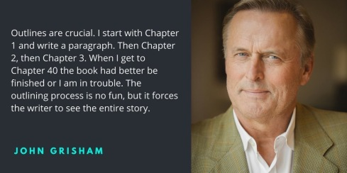 john grisham writing quote